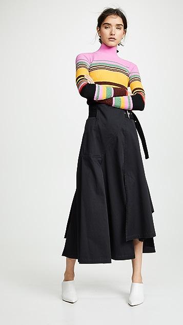 Diane von Furstenberg Топ Dara с воротником под горло