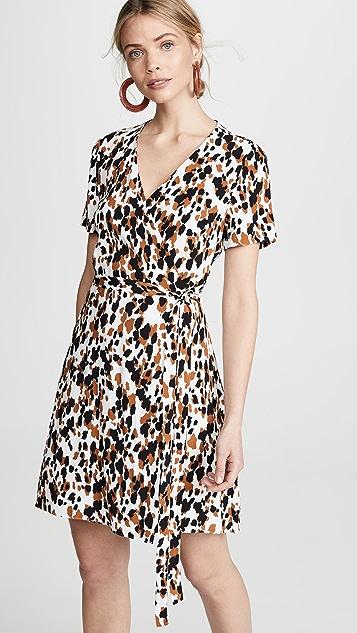 Diane von Furstenberg Savilla Dress - Apaloosa Chestnut