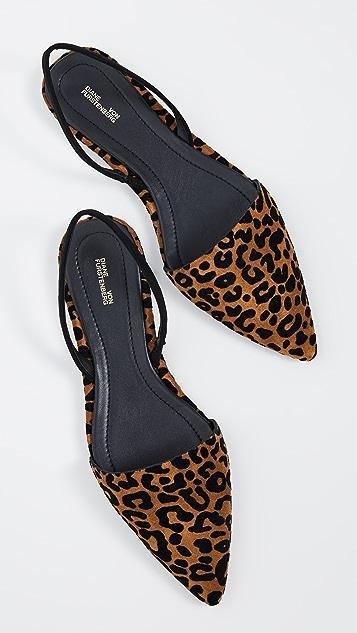 Diane von Furstenberg Обувь Koko на плоской подошве с ремешком на пятке