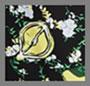 Lemons Collage Black