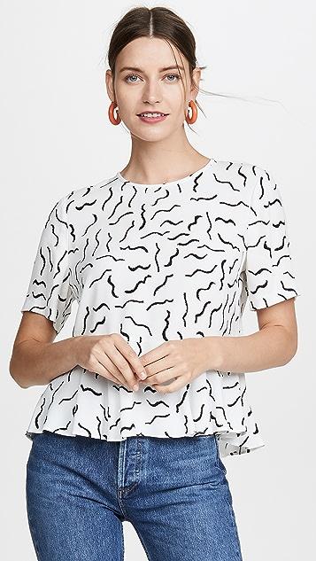 Diane von Furstenberg Orilla 女式衬衫