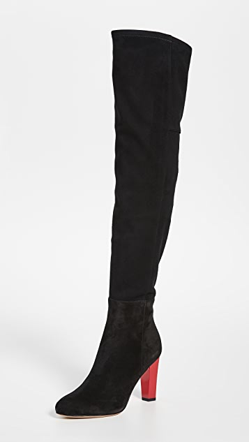 Diane von Furstenberg Deana Over the Knee Boots