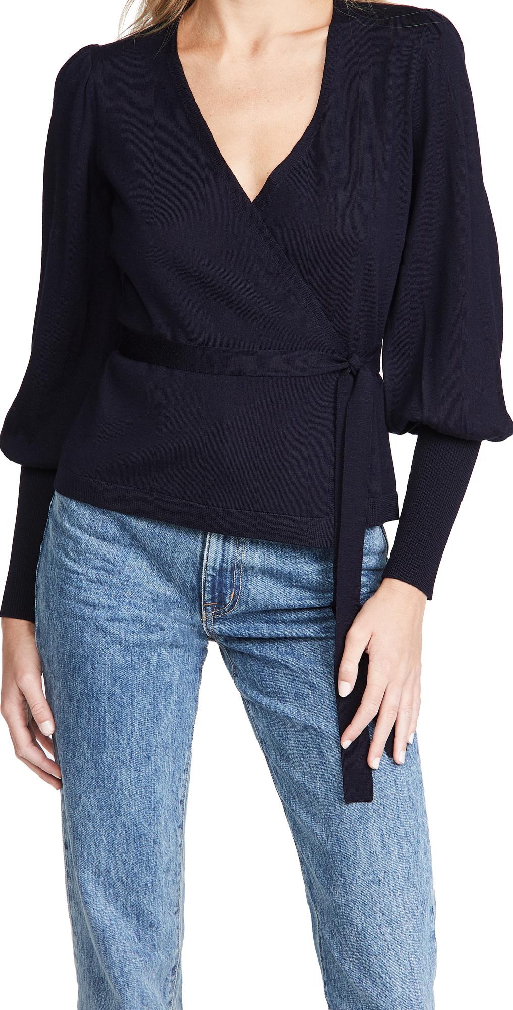 Diane von Furstenberg Adrielle Wrap Sweater