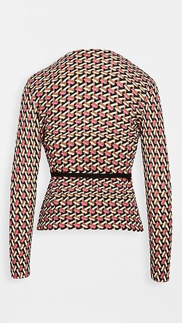 Diane von Furstenberg 银色毛衣