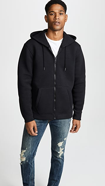 Diesel Hooded Sweatshirt with Embroidered Logo