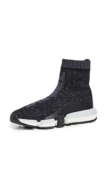 Diesel Padola Mid Sock Sneakers