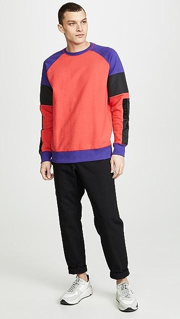 Diesel S-Gim-Block Sweatshirt