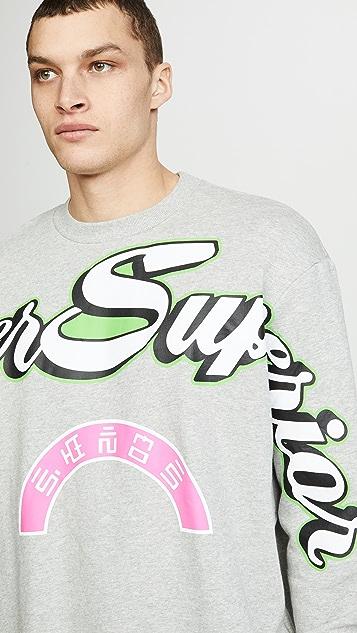 Diesel Bay Radio Print Sweatshirt