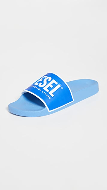 Diesel Valla Pool Slide Sandals