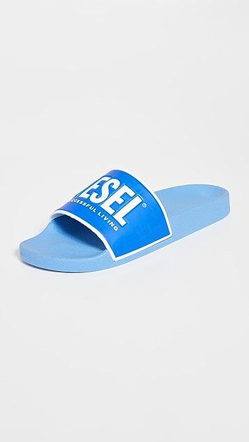 Diesel Valla Pool Slide Sandals