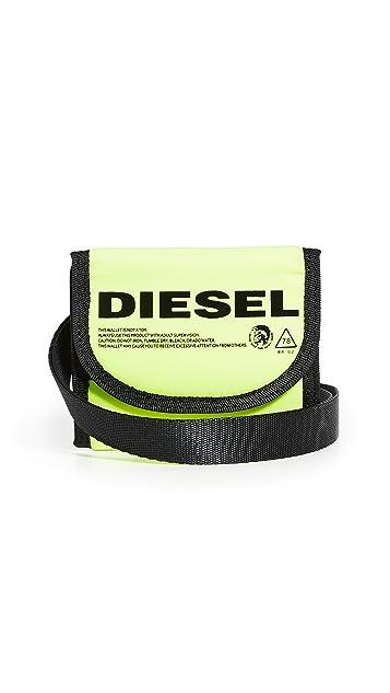 Diesel Sus-Foza Yoshino Lanyard Wallet