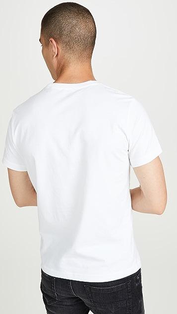 Diesel T-Diego-A7 Logo Short Sleeve Tee Shirt