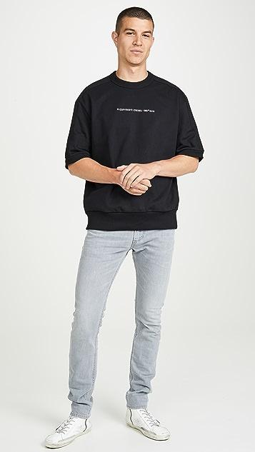 Diesel Copy Short Sleeve Sweatshirt