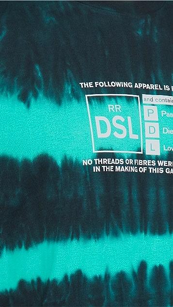 Diesel Tie Dye Rating Tee