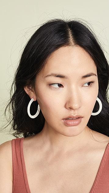 Dinosaur Designs Medium Loop Earrings