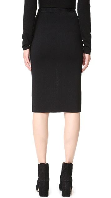 Dion Lee Reversible Split Density Skirt