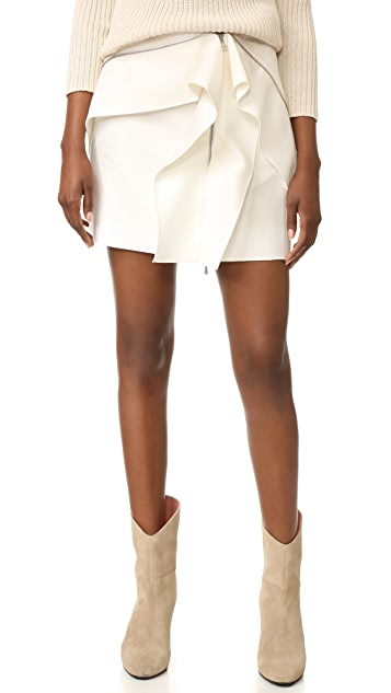 Dion Lee Zip Miniskirt
