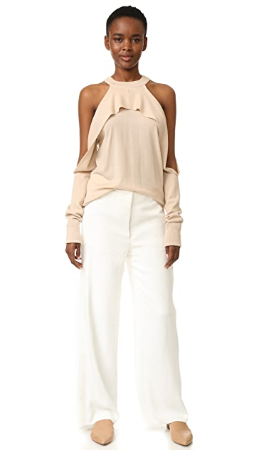 Dion Lee Long Sleeve Knit Top