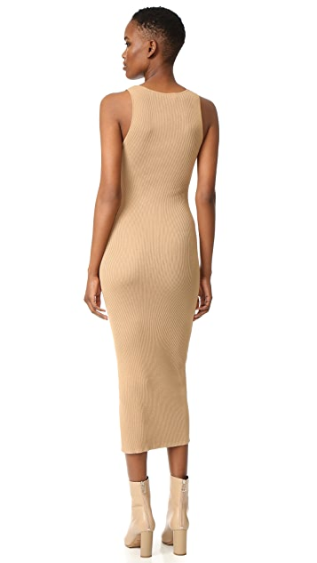 Dion Lee Ribbed Tank Dress