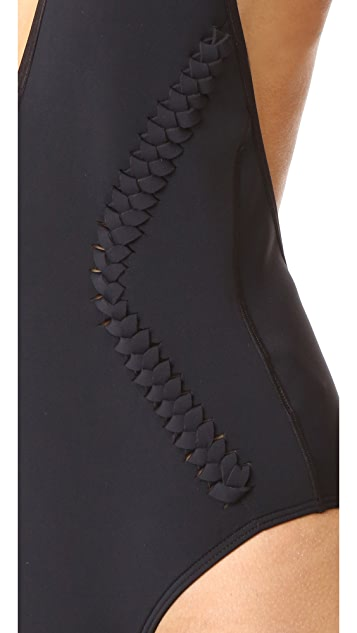 Dion Lee Braided One Piece Swimsuit