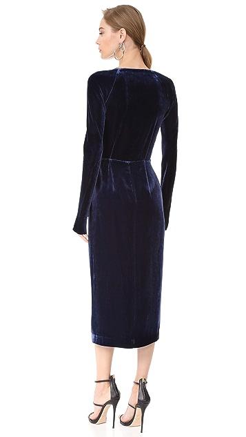 Dion Lee Velvet Contour Dress