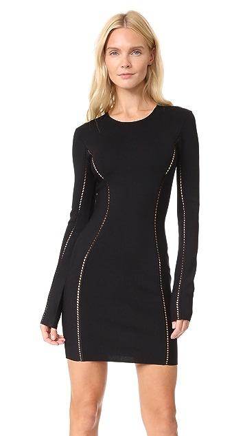 Dion Lee Long Sleeve Mini Dress