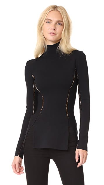 Dion Lee Long Sleeve Turtleneck