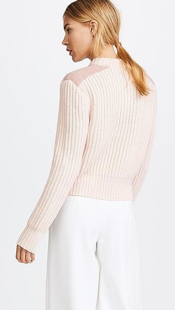 Dion Lee Long Sleeve Pocket Sweater