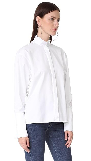 Dion Lee Quarter Fray Shirt