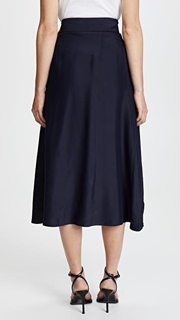 Dion Lee Contrast Loop Skirt