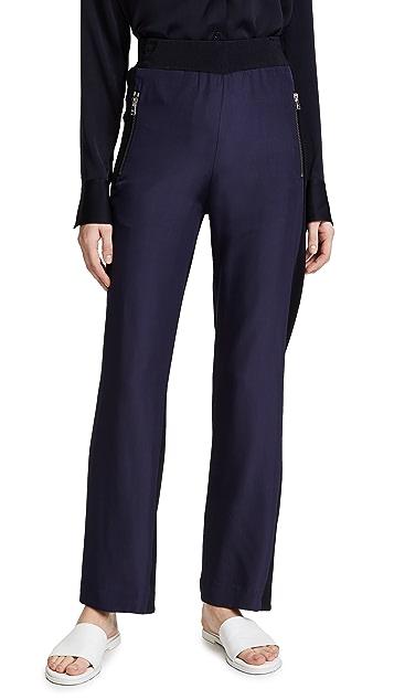 Dion Lee Chevron Zip Track Pants
