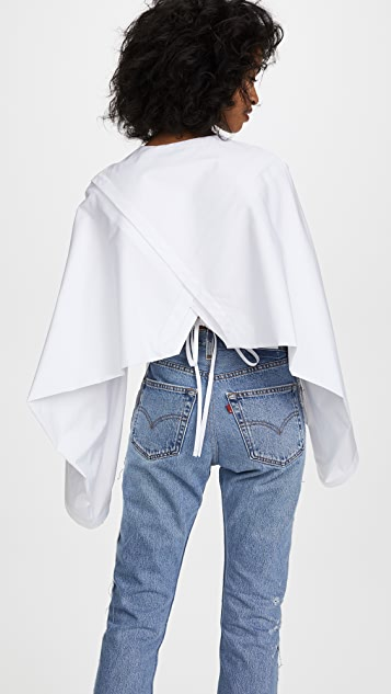 Dion Lee Loop Sleeve Shirt