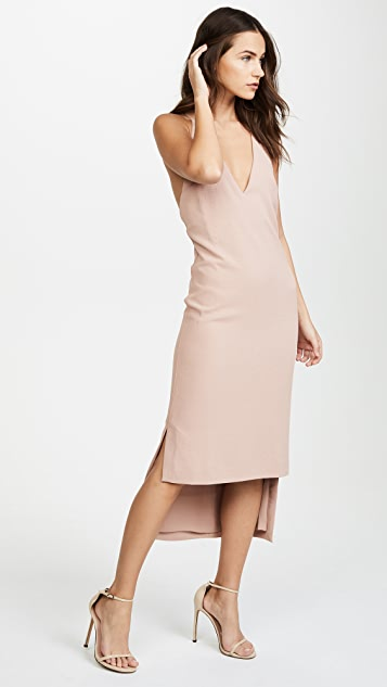Dion Lee Whitewash Fine Line Dress