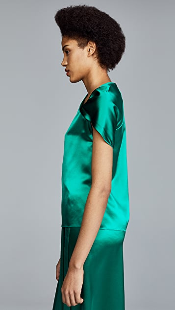 Dion Lee Satin Knot Top