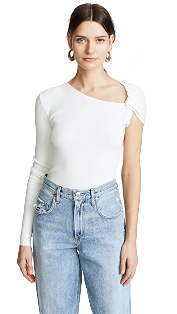 Dion Lee Twist Long Sleeve Top