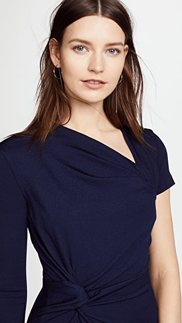 Dion Lee Double Twist Asymmetric Mini Dress