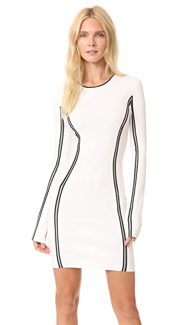 Dion Lee Long Sleeve Mini Dress
