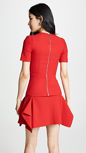 Dion Lee Double Wool Contour Top
