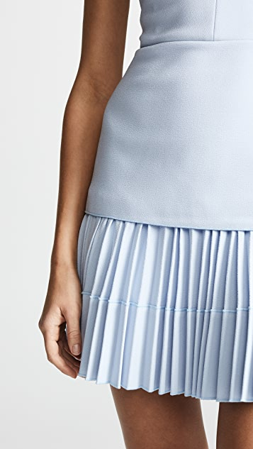 Dion Lee Ellipse Pleat Mini Dress