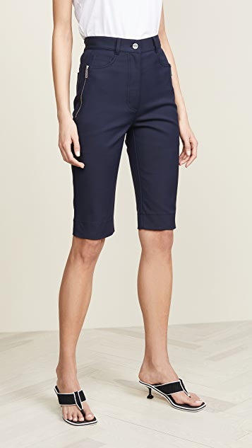 Dion Lee Highwaisted Jean Shorts