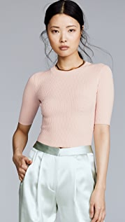 Dion Lee Shadow Cropped Sweater