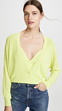 Interlock Double Sweater