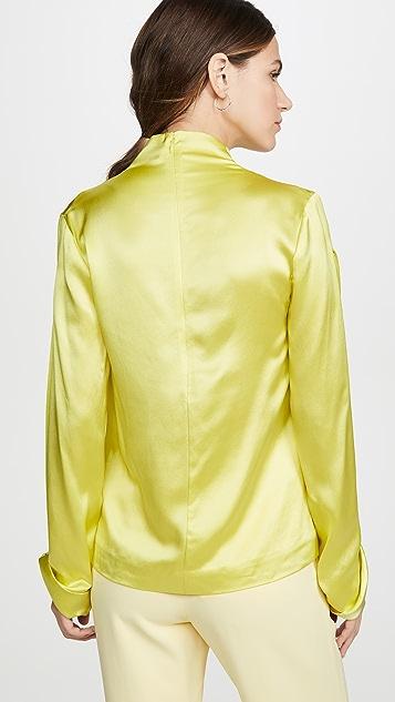 Dion Lee Carpal Twist Long Sleeve Top