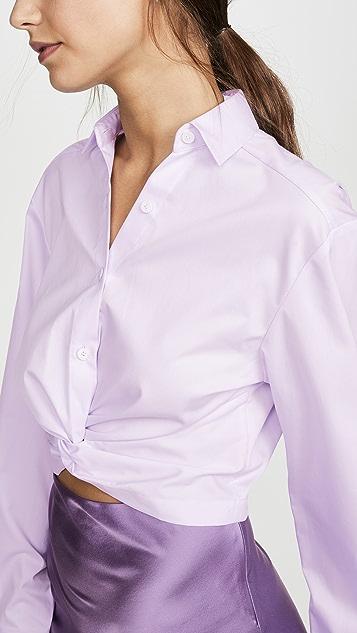 Dion Lee Twist Placket Shirt