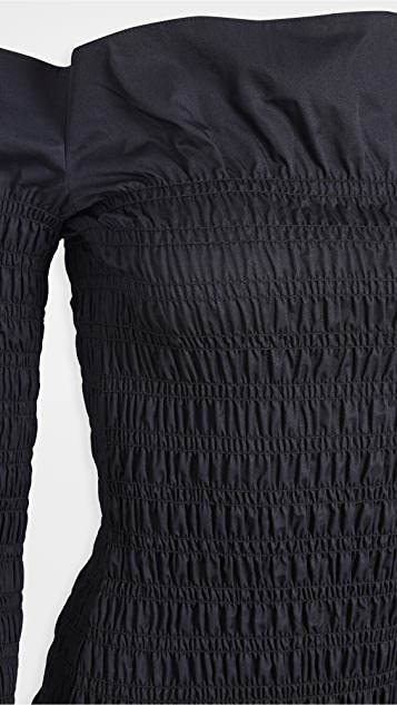 Dion Lee Shirred Mini Dress