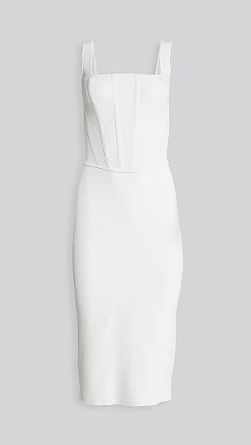 Dion Lee Pointelle Corset Dress