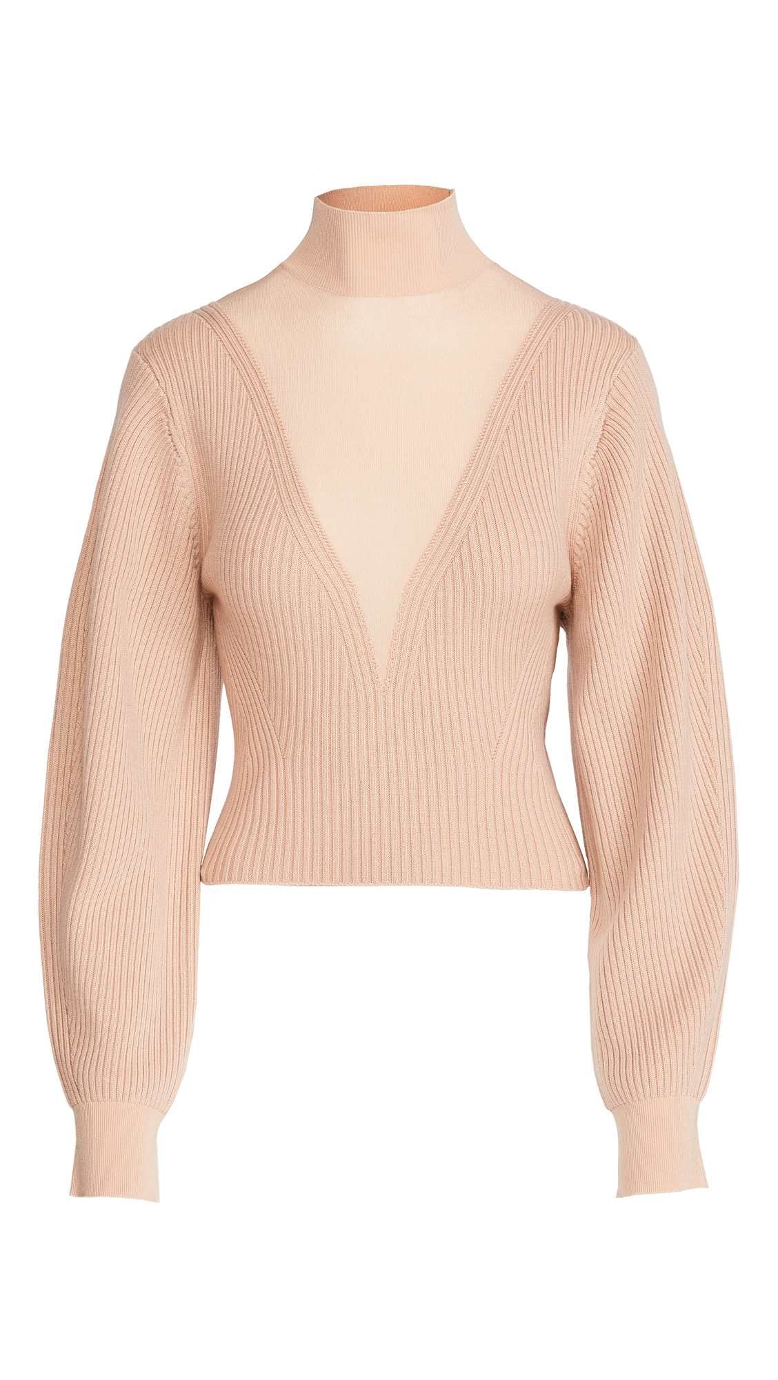 Dion Lee Merino Hosiery Sweater