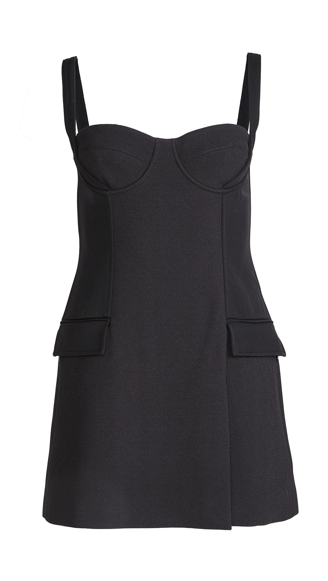 Dion Lee Belted Strap Bustier Mini Dress