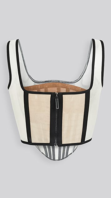 Dion Lee Spacer Knit Corset