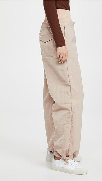 Dion Lee Nylon 运动裤